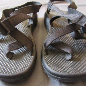 Womens Chaco Black Sport Hiking Sandals Sz 9